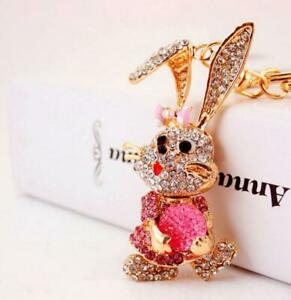 Cartoon AnimalBetsey Johnson Enamel Jewelry Pendant rhinestone rabbit necklaces