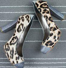 Sam Edelman Womens Real Fur Frances Pump High Heels size 8M