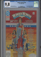 WONDER WOMAN #50 MT 9.8 CGC WHITE PAGES PEREZ STORY AND COVER TANGHAL ART