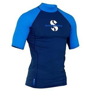 Scubapro T-Flex UV Shirt Aegean Wassersport Shirt (Herren kurzarm)