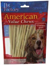 PET FACTORY 28054 American Beef-Hide Premium Twist Sticks 5-Inch 25-pk