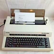 Royal Alpha 2015 Typewriter Royal Business Machines Connecticut Works Great