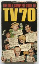 TV tie-in pb TV 70 (THE ONLY COMPLETE GUIDE TO) [1st, Signet 1969] Dave Kaufman