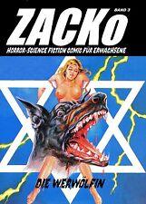 ZACKo (ZOCKo) #3 -Comic für Erwachsene // Horror-SciFi FUMETTI NERI