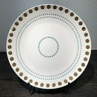 """1 Rachael Ray CIRCLES AND DOTS Dinner Plate 10 3/4"""""""