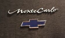 2002 CHEVROLET MONTE CARLO SCRIPT & LOGO SHIELD TRUNK TRIM EMBLEM CHEVY