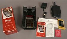 * Mint * Texas Instruments Sr-40 Electronic Slide-Rule Calculator