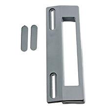 Whirlpool 190mm Grey Silver Fridge Refrigerator Freezer Door Handle Adjustable