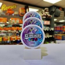 Ice Breakers Mints Duo Grape 1.3oz (36g) x 3 Tubs. USA Import
