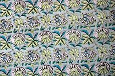 Indian Cotton Screen Printing Fabric By Yard Dresses Pure Cotton Robe Fabric