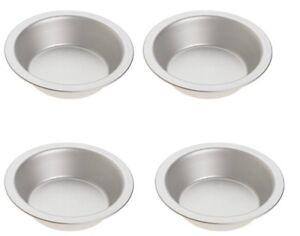 Norpro Set of 4 Tin Mini Pie Pans, 5 Inch Diameter