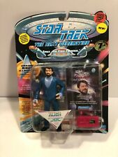 RIKER AS MALCORIAN STAR TREK NEXT GENERATION   ACTION FIGURE NEW SEALED