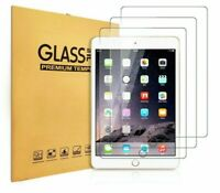 "4 Pack TEMPERED GLASS Screen Protector for Apple iPad 9.7"" 2018 6th Gen Air Air2"