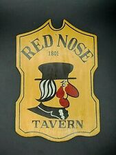 VINTAGE METAL BAR PUB TAVERN SIGN Flamingo Lounge 12 x 18