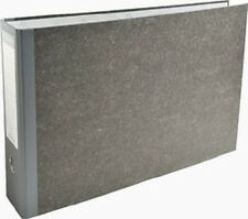EXACOMPTA Classeur à levier marbré gris, A3 horizontal,80 mm