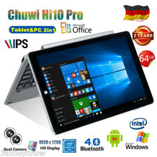 64GB+4GB 10.1'' CHUWI Hi10 Pro Tablet PC Windows10+Android 5.1 3G+WIFI +Keyboard