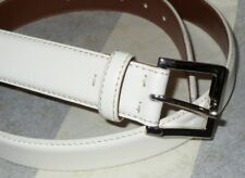 NEW IN BOX BROOKS BROTHERS WHITE GRAIN LEATHER MENS DRESS BELT 40 MADE IN ITALY