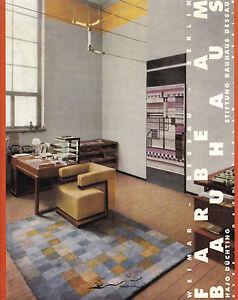 BAUHAUS Weimar - DESSAU - Berlin - Hajo Düchting: Farbe am Bauhaus