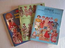 Paper Doll Books - Barbara Whitton Jendrick-sheila young-grage g. drayton