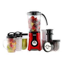 Emperial Food Blender 4 in 1 Smoothie Maker Frullatore Macinacaffè 1.5L Rosso