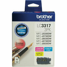 Brother LC33173PK Colour Ink Cartridge - Cyan/Magenta/Yellow