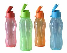 Tupperware 500 ML ECO Aquasafe Flip Top Water bottles- ONE BOTTLE ALL COLOURS