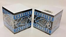 NFL Carolina Panthers Note Pad Cubes (2 Cubes) NEW