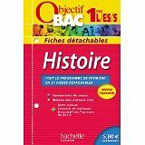 Collectif - Objectif Bac - Fiches détachables - Histoire 1ères - 2012 - Broché