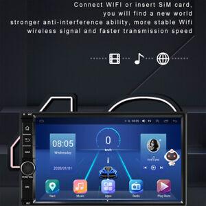 7-inch 2 Din 8-core Android 10.0 GPS Navi Carplay 4+64GB WIFI&4G BT MP5 Player