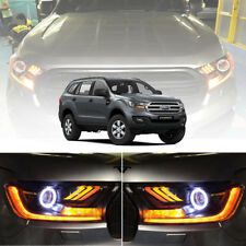 MUSTANG LED FRONT LAMP HEADLIGHT PROJECTOR FOR FORD EVEREST SUV 2015 16 17 18