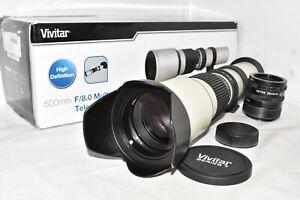 Canon DSLR EOS DIGITAL fit 500mm 1000mm 1500mm tele lens 2000D 3000D 4000D more