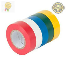 New listing General Purpose Electrical Wire Tape 5 Pack Set Assorted Colors Diy New