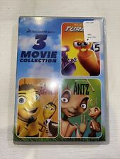 Dreamworks 3 Movie Collection: Turbo / Bee / Antz (Dvd, 2020)