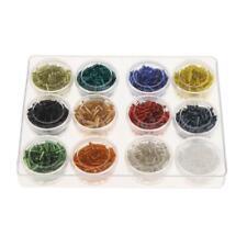 (ab.1080pcs) Glass Czech Bugle Beads Seed Beads DIY Jewelry Making 2x6mm