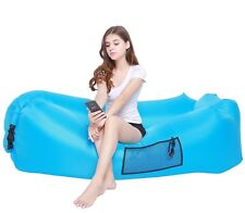 Inflatable Lounger Air Sofa Beach Lounge Bed Couch Dream Chair AIWOTOWOW camping