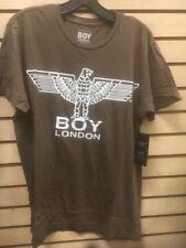 BOY London Large 100% Authentic NEW Mens T-shirt Light Brown #12