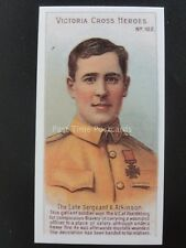 No.102 SGT A. ATKINSON Victoria Cross Heroes 101-125 REPRO Taddy 1904