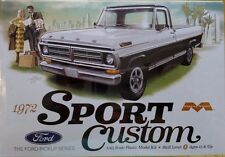 Moebius Models 1972 Ford Sport Custom Pickup 1/25 Scale Plastic Model Kit #1220