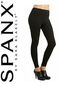 SPANX Assets Red Hot Label Structured Leggings Ponte BNWT Black