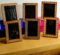 Photo Picture Frame Wood Hand Made Fair Trade Wooden Glass Portrait Landscape