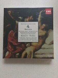 British Composers - Britten, Berkeley, Rubbra -EMI Classics Collection (5 CDs)