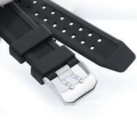 Silikon Gummi schwarz Uhrenarmband Armband For Luminox Ersatz Uhr Z1Z1 L5T7