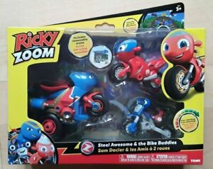 Ricky Zoom - Steel Awesome And His Biker Buddies Ricky & Loop NEW FREE UK POST!