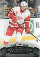 2015-16 Upper Deck Overtime Hockey #34 Pavel Datsyuk Detroit Red Wings