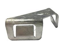100x Doppelstabmatten Halter verzinkt Gabionen Gittermatten Eckverbinder Gabione