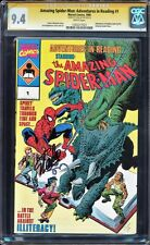 AMAZING SPIDER-MAN: ADVENTURES IN READING #1  CGC 9.4 W SS STAN LEE #1203277025