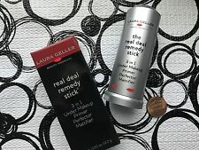 Laura Geller REAL DEAL REMEDY STICK 3-in1 Under Makeup Primer * .5 oz NEW in Box