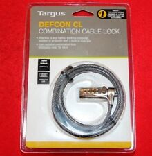 Targus Defcon CL Combination Cable Lock (PA410E) *BRAND NEW/ORIGINAL PACKAGING*