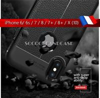 Etui Coque Housse Silicone shockproof Case Cover skin Apple iphone 5 6 7 8 X 10