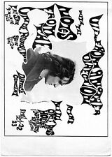 Note From the Underground 1967 Poster Handbill, rare